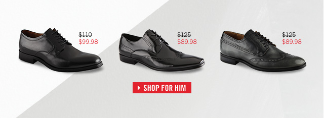SHOP FOR HIM AT www.aldoshoes.com/us/sale/men