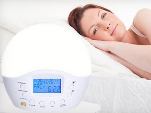 Simulated Sunrise Alarm Clock from Dr. Frank Lipman