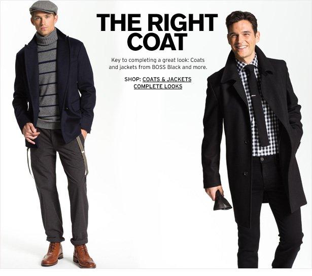 THE RIGHT COAT