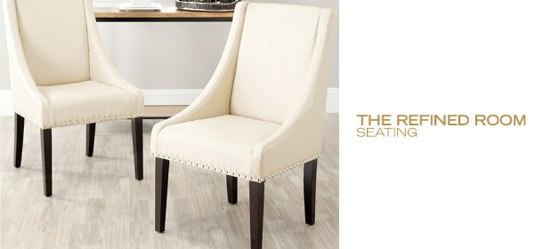 THE REFINED ROOM: SEATING, Event Ends December 11, 9:00 AM PT >