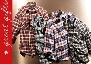 Cold Comfort: Plaid & Flannel Shirts