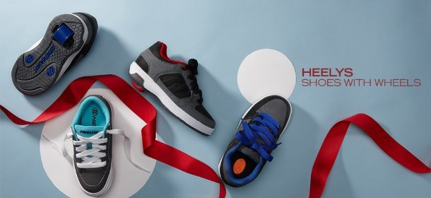 HEELYS: SHOES WITH WHEELS, Event Ends December 12, 9:00 AM PT >