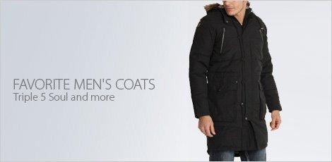 Favorite Men's Coats