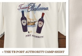 The TB Port Authority Camp Shirt