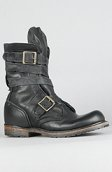 <b>Vintage Shoe Company U.S.A.</b><br />The MADE IN THE USA Issac Boot in Black Harness