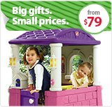 Big gifts. Small prices.
