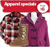 Apparel Specials