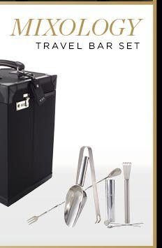 Mixology Travel Bar Set