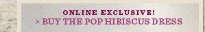 Buy The Pop Hibiscus Dress