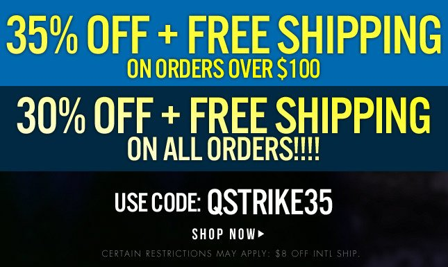 35% Off + Free Shipping
