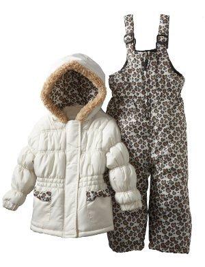 Pink Platinum <br/>Leopard Solid Snowsuit