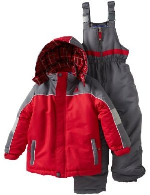 Rugged Bear <br/> Boys Colorblocked Snowsuit