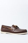 <b>Sperry</b><br />The A/O 2-Eye Boat Shoe in Classic Brown