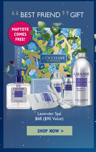 Best Friend Gift Lavender Spa $20 ($23 Value)