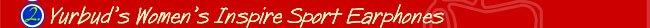 Yurbuds Wommens Inspire Sport Earphones