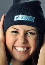 Like A Boss Thumbs Up Beanie