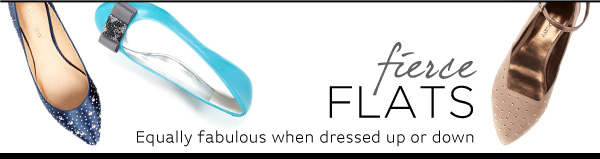 Shop Fierce Flats Collection