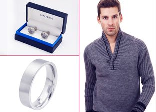 Heart Warmers for Him  by Varvatos, Hilfiger & more