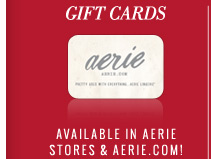 Gift Cards | Available In Aerie Stores & Aerie.com!
