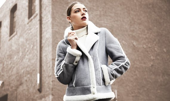 Branco Pelle Shearling Outerwear - Visit Event