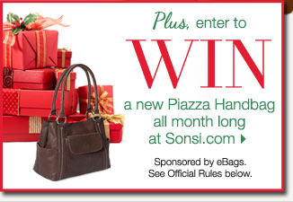 WIN a New Piazza Handbag all month long