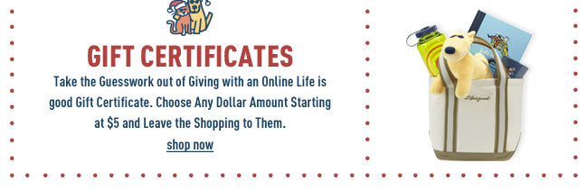 Buy a Life is good Gift Certificate