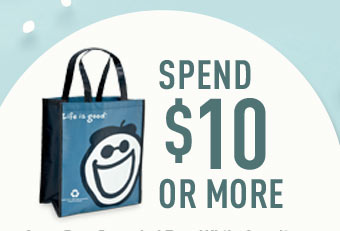 Spend $10 or More and Get a Free Recycle Tote