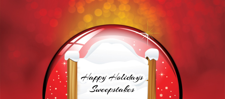 Happy Holidays Sweepstakes