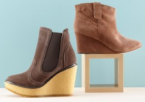 Height of Fashion: Wedge Boots