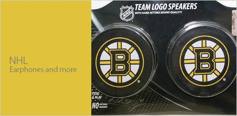 NHL Earphones & More