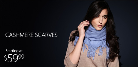 Cashmere and Cashmere Blend Scarves