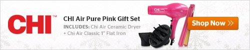 CHI Air Pure Pink Gift Set