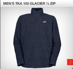 MEN'S TKA 100 GLACIER 1/4 ZIP