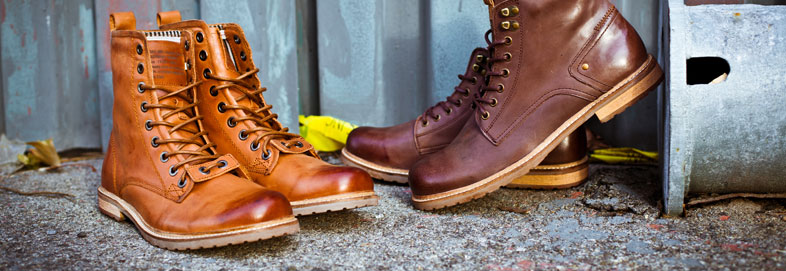 Shop Fine Leather Boots by Sneaky Steve