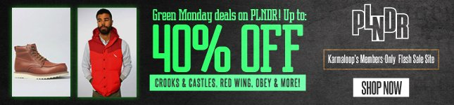 Green Monday Deals on PLNDR!
