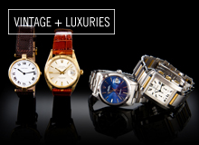 From the Reserve Cartier & Rolex Watches