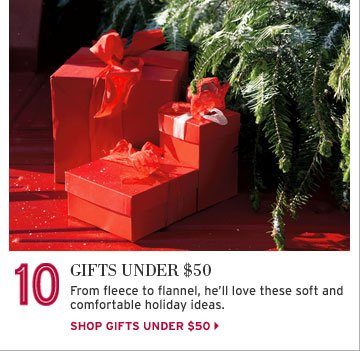 Shop Gifts Under $50 For Him
