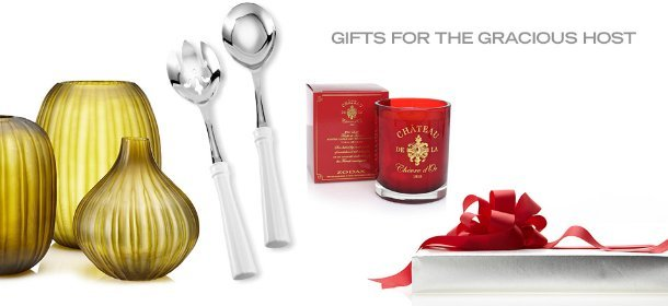 GIFTS FOR THE GRACIOUS HOST, Event Ends December 12, 9:00 AM PT >