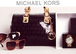 Michael Kors Handbags, Watches, Sunglasses