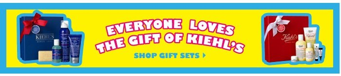 EVERYONE LOVES THE GIFT OF KIEHL'S | SHOP GIFT SETS