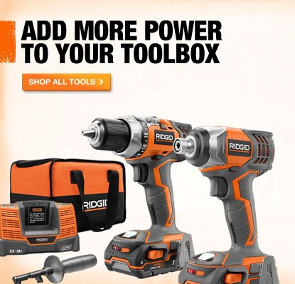 GET ON A POWER TRIP WITH TOP-QUALITY TOOLS