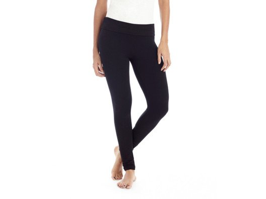 Fleece-lined leggings are a wintertime essential. They're the ultimate mixture of comfort and style!