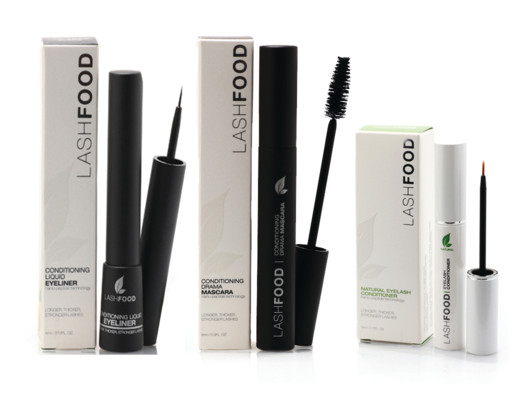 This Lashfood line is really cool because it helps grow your lashes and takes care of the ones you already have.
