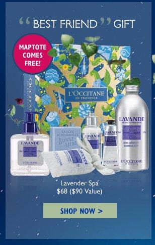 Best Friend Gift Lavender Spa $20 ($23 Value)