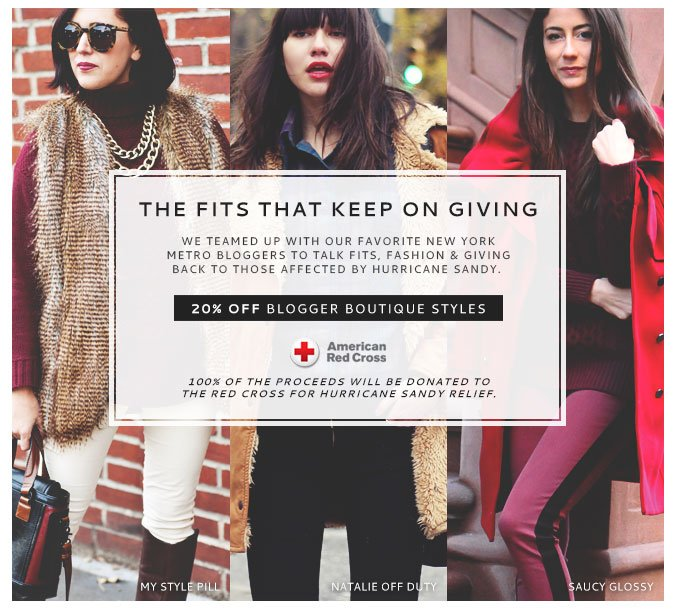 Blogger's Talk Fits, Fashion & Giving Back + Receive a Gift Card With Purchase of $250 or more