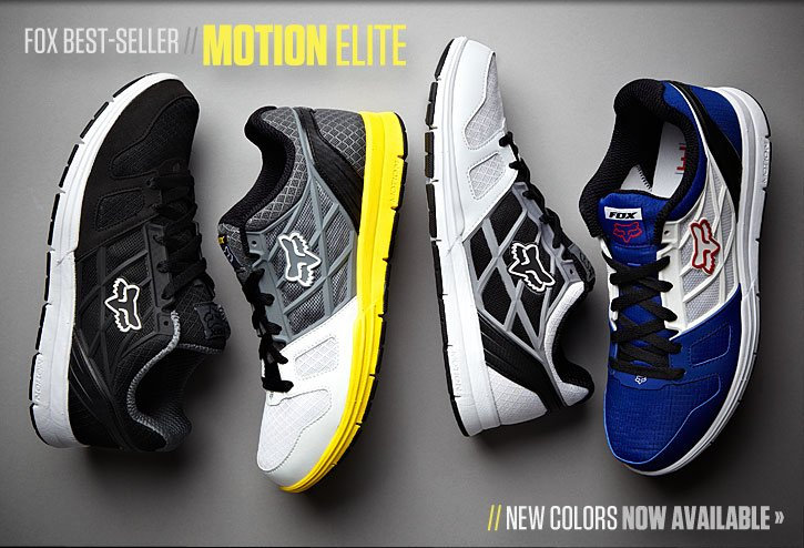 Motion Elite Now Available In New Colors