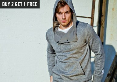 Shop Vive: Marled Hoodies, Henleys & More