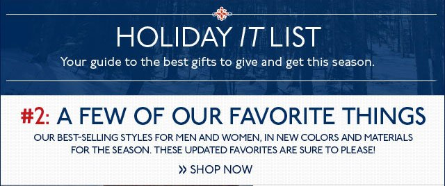 Holiday It List