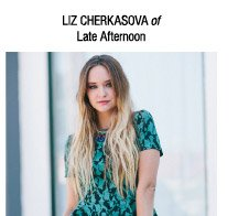 Liz Cherkasova of Late Afternoon