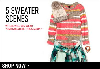 5 Sweaters Scenes - Shop Now